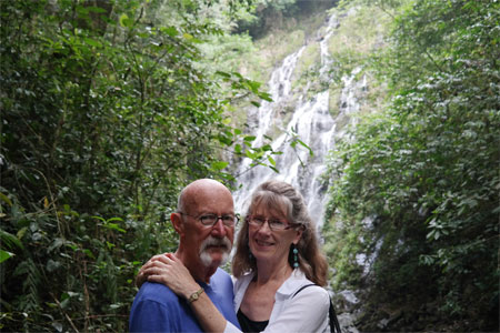From Panama with love. Frank and Norma