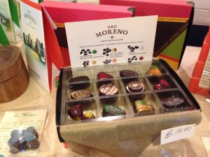 Oro Moreno chocolates