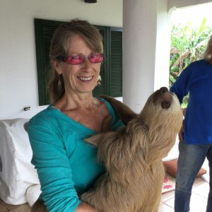 Norma with sloth